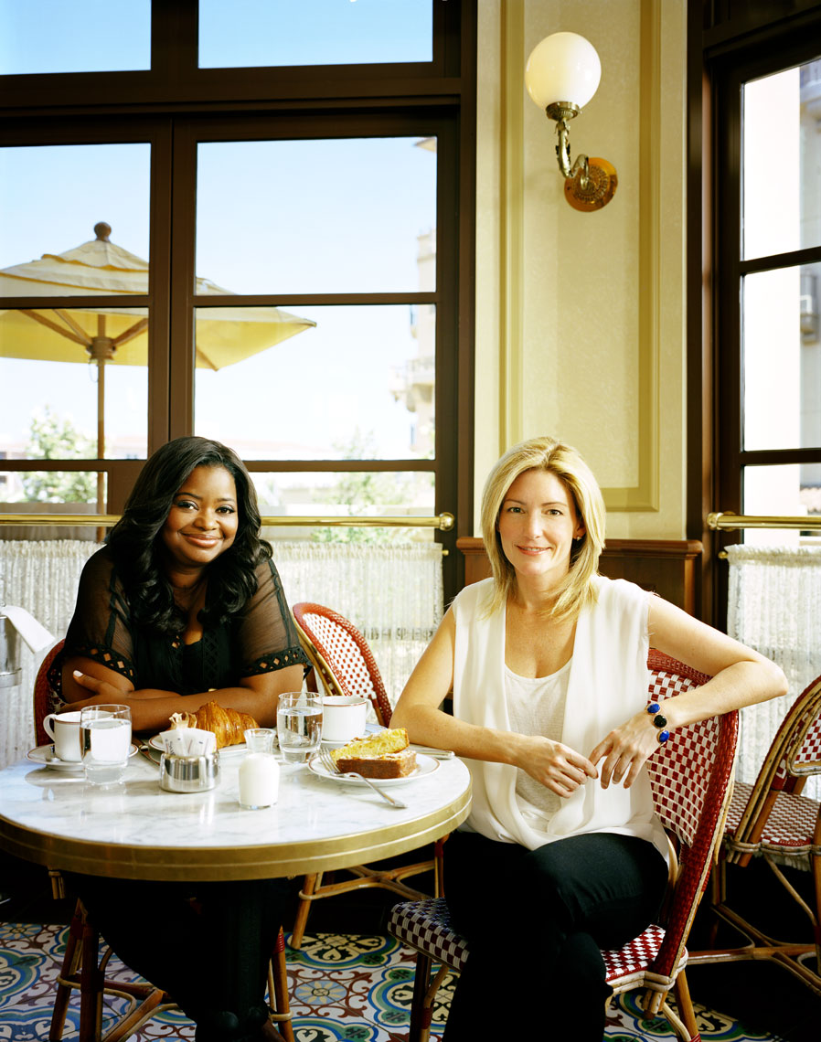 Octavia-Spencer--Kathryn-Stockett